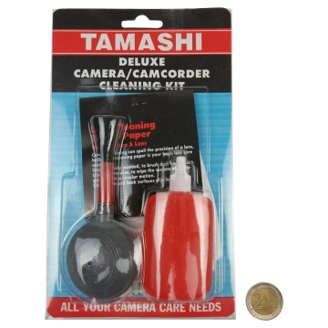 DELUXE CAMERA & CAMCORDER CLEANING KIT (10