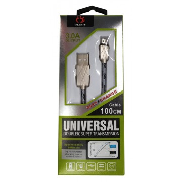 3.0A 1M MICRO USB CABLE