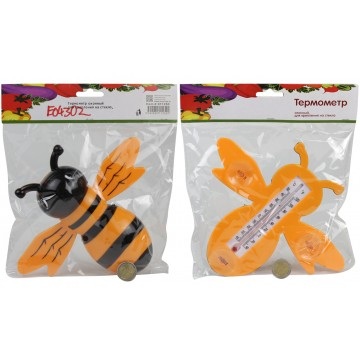 BEE THERMOMETER W/SUCTION CUPS