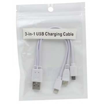 3IN1 CHARGING CABLE(Micro USB,TYPE-C,Lightning)