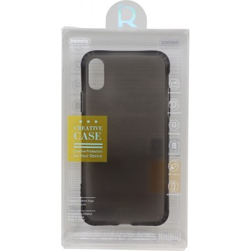 REMAX Letton Series Phone Case for iPhone X black/white
