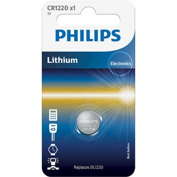 PHILIPS LITHIUM COIN CELL CR1220