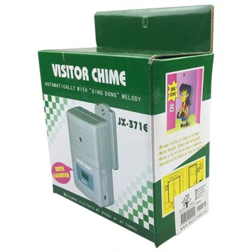 Visitor Chime With Counter