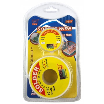 2PC SOLDER WIRE WITH ROSIN