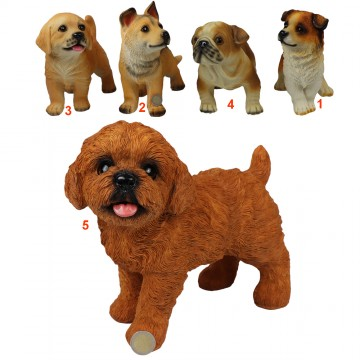 ASSORTED RESIN DOGS