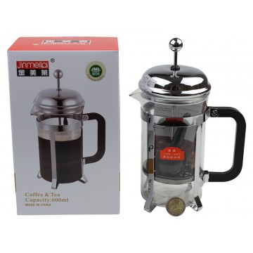 0.6L GLASS CAFETIERE