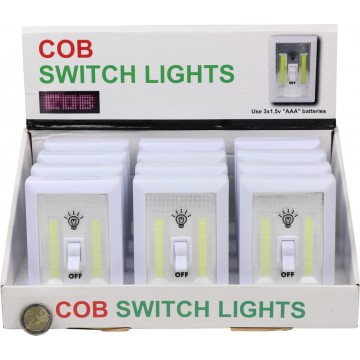 COB SWITCH LIGHT(BATTERY INCLUDED)