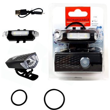 Rechargeable Bike Front & Back Light (24)