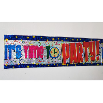 Party Banner 2M 10/Pk