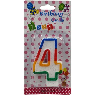 Number Birthday Candle-4 (12)