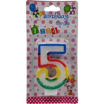 Number Birthday Candle-5 (12)